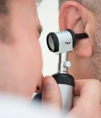 ear exam picture id451632581